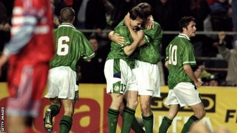Ireland played Turkey in the play offs for Euro 2000