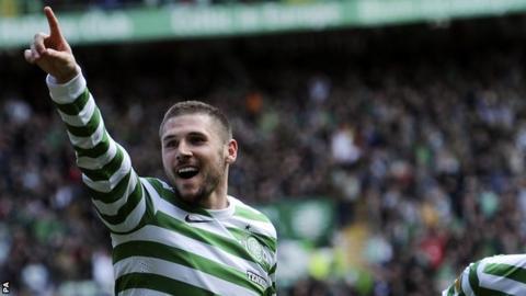 Former Celtic striker Gary Hooper