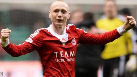 Aberdeen midfielder Willo Flood