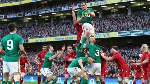 Ireland beat Wales in second round of Six Nations fixtures