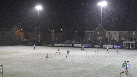 The four-nations under-21 tournament is taking place at Mossley just outside Belfast