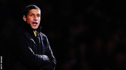 Norwich City boss Chris Hughton