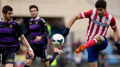 Atletico Madrid v Real Valladolid