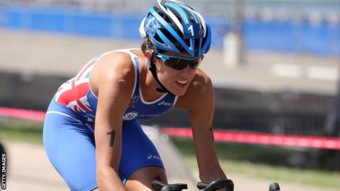 Triathlete Helen Jenkins
