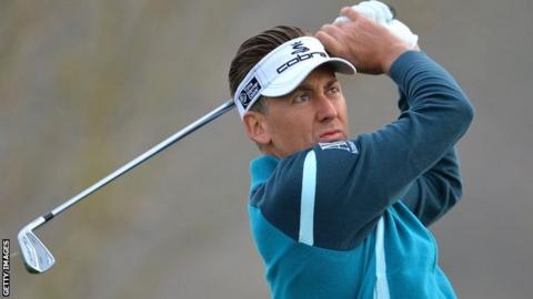 Ian Poulter during his first round defeat against Rickie Fowler in the WGC World Match Play