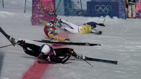 Ski cross in Sochi