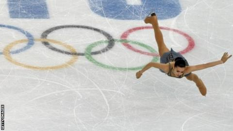 Russia's Adelina Sotnikova performs in the women's figure skating Free