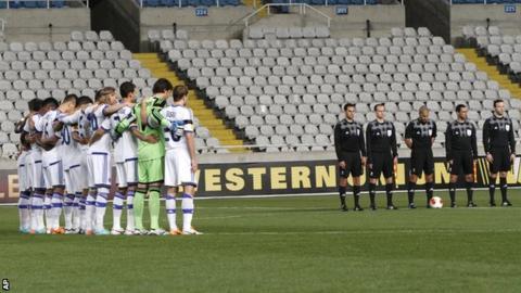 Dynamo Kiev v Valencia