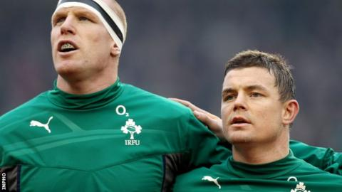 Paul O'Connell says Brian O'Driscoll has almost single-handely revolutionised Irish rugby
