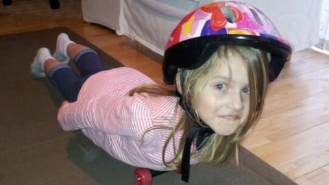 Maddy shows how Lizzy Yarnold has inspired her