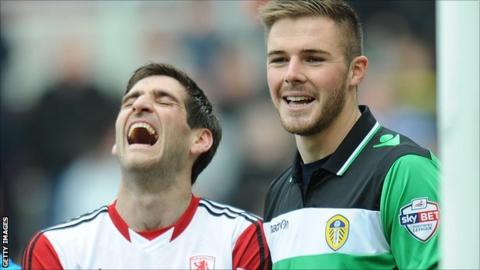 Danny Graham and Jack Butland