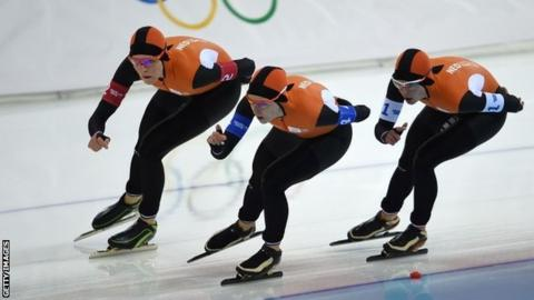 The Netherlands women on their way to Olympic gold