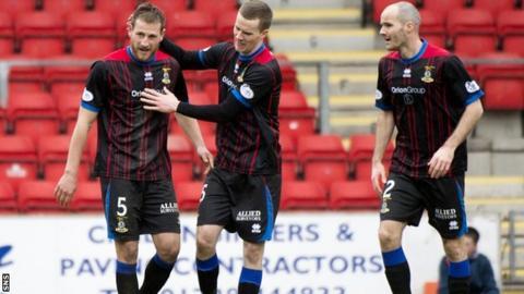 Inverness celebrate