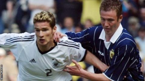 Germany face Scotland
