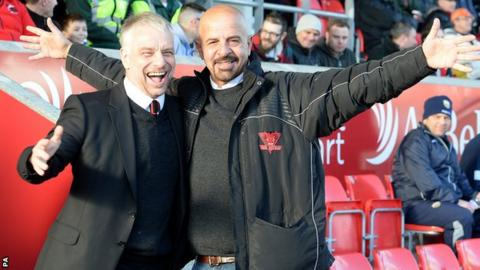 Brian Noble and Marwan Koukash
