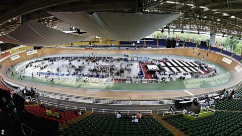 The venue for the World Track Championships