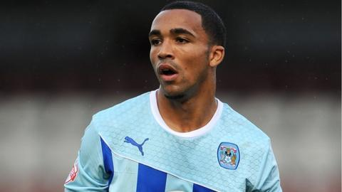 Coventry City striker Callum Wilson