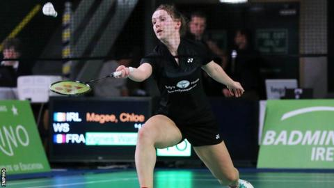Chloe Magee loses in German Open