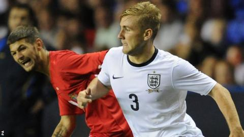Luke Shaw England Under-21s