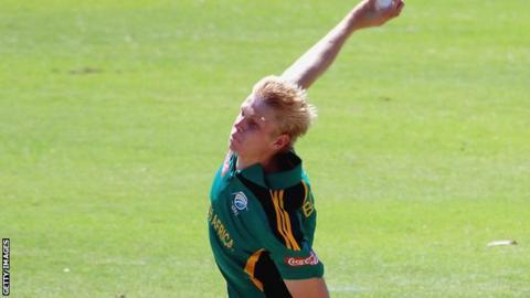 Corbin Bosch of South Africa