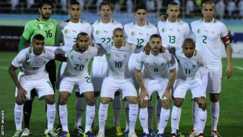 Algeria football team