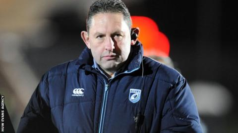Cardiff Blues director of rugby Phil Davies