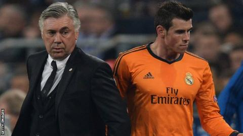 Real Madrid boss Carlo Ancelotti