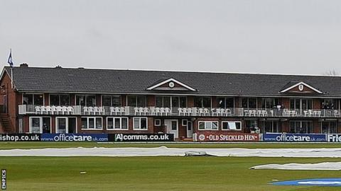 Derbyshire's County Ground home