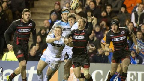 Glasgow beat Edinburgh 20-16 on Boxing Day