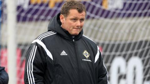 Northern Ireland Under-21 manager Jim Magilton took over from Stephen Robinson