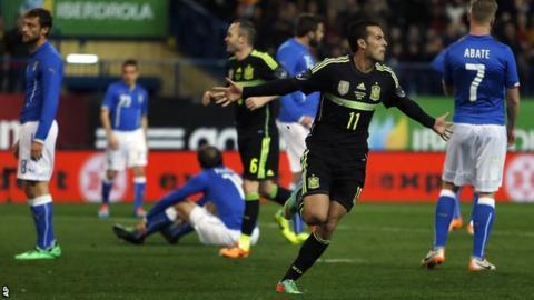 Spain v Italy - Pedro