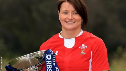Wales captain Rachel Taylor