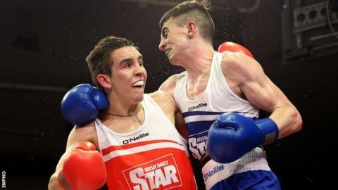 Michael Conlan beat Tyrone McCullagh in Dublin