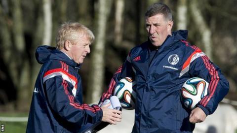Gordon Strachan and Mark McGhee