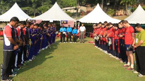 Silence before Malaysia v Jersey