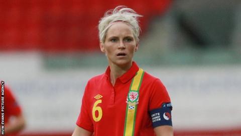 Wales Women's player Jess Fishlock