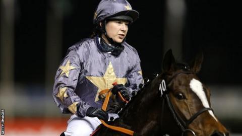 Jockey Hayley Turner