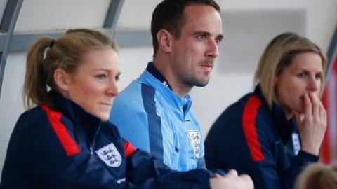 England women's coach Mark Sampson