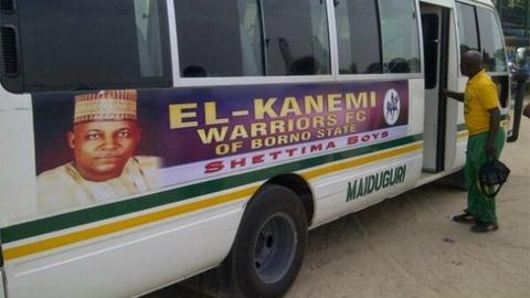 El-Kanemi Warriors bus