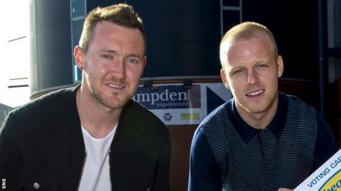 Aiden McGeady and Steven Naismith