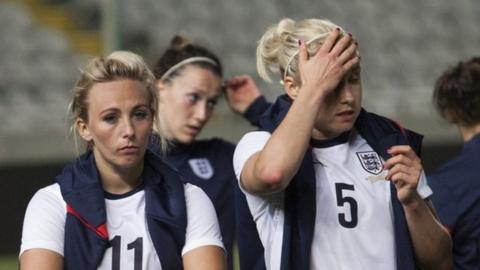England fail to hold on to the Cyprus Cup, losing 2-0 to France in the final at Nicosia's GSP Stadium