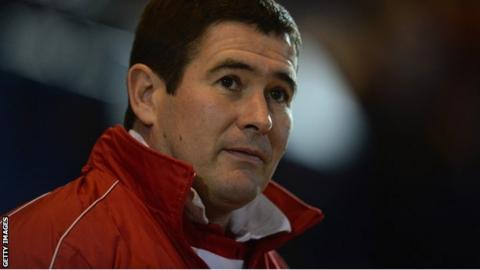 Sheffield United manager Nigel Clough