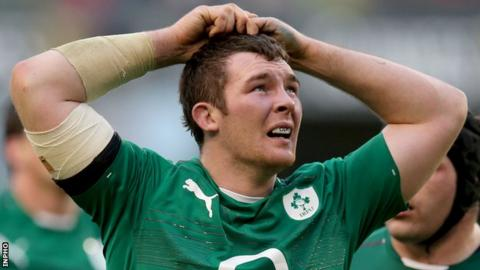 Peter O'Mahony was not risked for Ireland's win over Italy as he was recovering from a hamstring injury