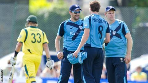 Cricket Scotland are advertising for a new head coach