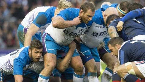 Scotland's scrum will be under pressure in Cardiff
