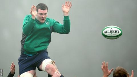 Peter O'Mahony has overcome a hamstring injury