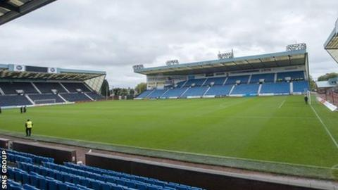 Rugby Park, home of Kilmarnock FC