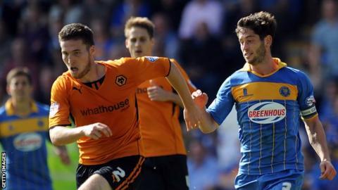 Wolves v Shrewsbury