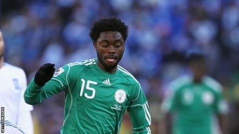 Nigeria's Lukman Haruna