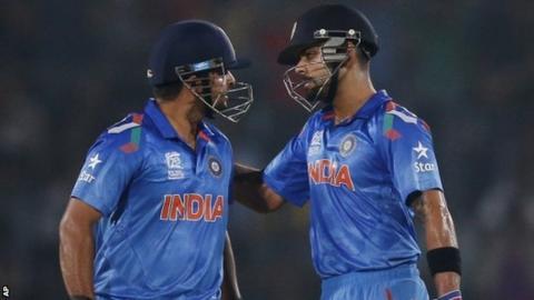 Suresh Raina & Virat Kohli